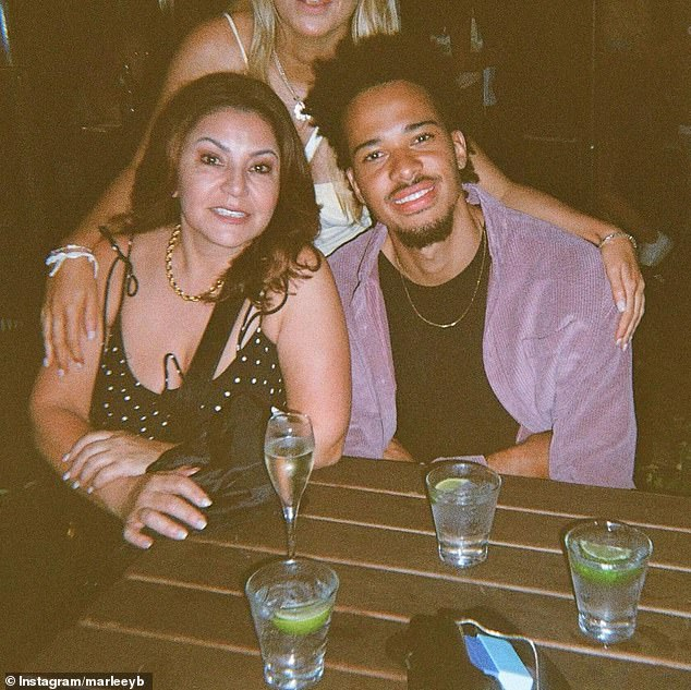 Nothing but love:Following Mary's eviction, Marley posted a sweet dedication to Instagram, 'I love this lady @maryykala,' he wrote. The basketballeralso went on to admit he looked forward to reuniting with the outspoken contestant outside the house