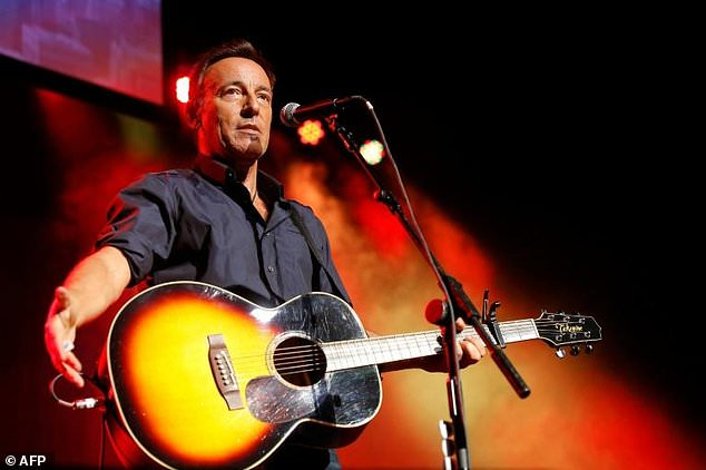 Rocker Bruce Springsteen's one-man-show will mark the first major show in New York's theater district to take place since closing for more than a year