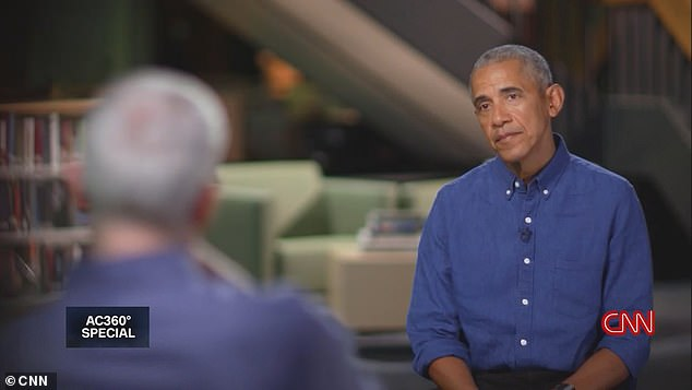 Obama spoke to CNN's Anderson Cooper for an AC360 Special named 'Barack Obama on Fatherhood, Leadership and Legacy', which aired Monday night