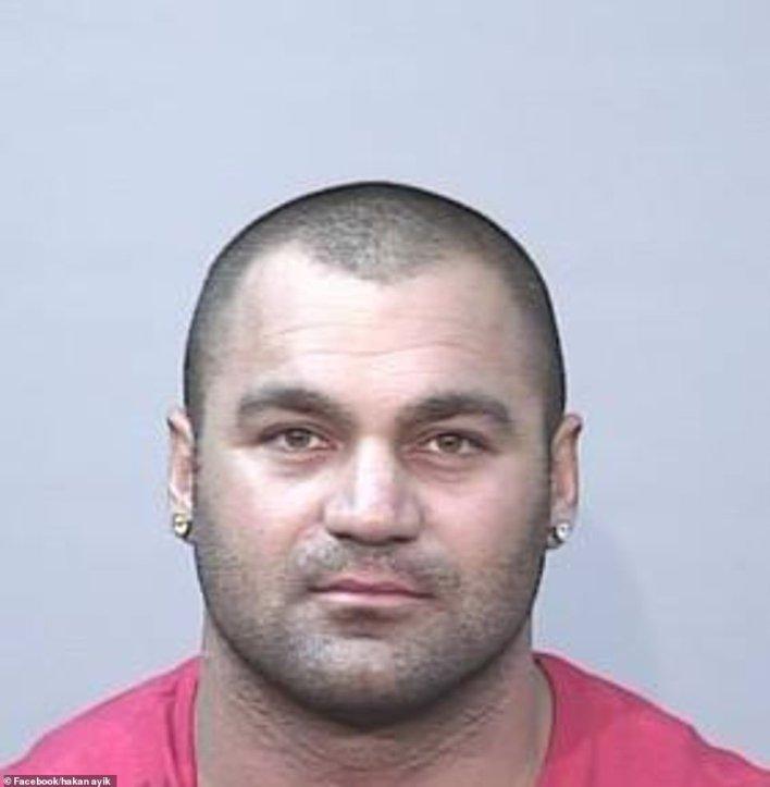Hakan Ayik (pictured) has been on the run from Australian authorities since 2010