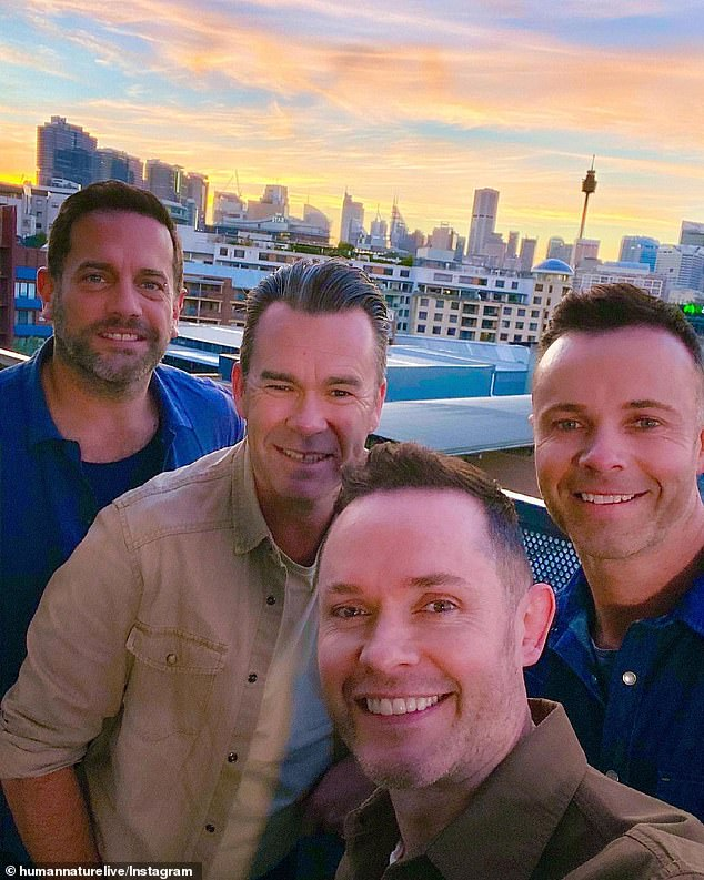 Back in town: Human Nature are currently playing regional shows before they kick off their national tour in August