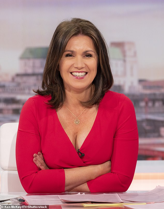 Cheeky! Susanna Reid didn't hold back as she begged Emile Heskey to give her beloved Crystal Palace FC a shout out on Tuesday's episode of Good Morning Britain