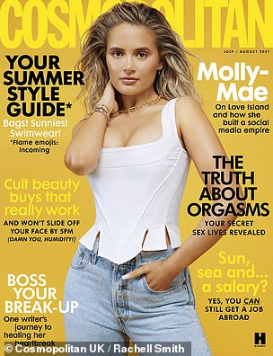 Read the full interview in the July/August issue of Cosmopolitan which goes on sale on Thursday