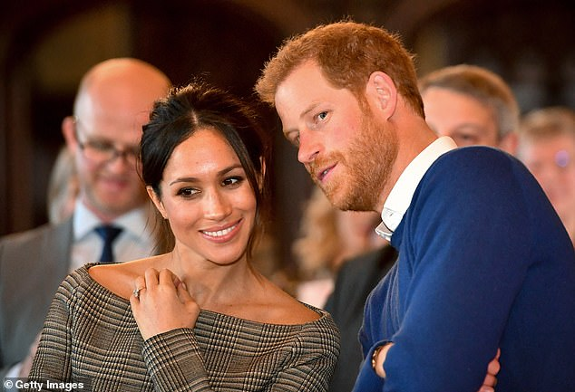 'It just doesn't fit with me':Mollard said the Queen likely feels 'disheartened' by the way Harry and Meghan have spoken about her to the media, and that using the name Lilibet is in poor taste