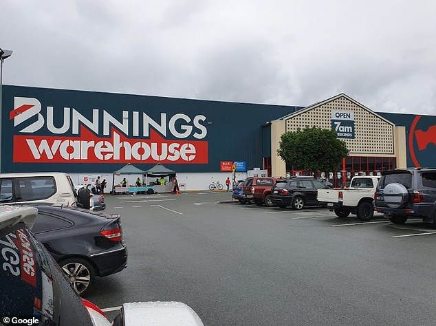 The positive woman was atBunnings in Caloundra, QLD between 12.10pm - 12.45pm on June 7