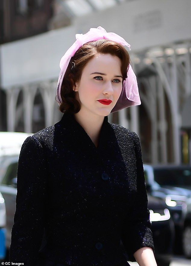 Return: Rachel is reprising her role as the titular fictional 1950s New York housewife in the series while co-star Luke Kirby plays legendary real-life comic Lenny Bruce