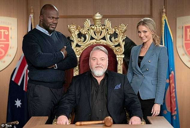 TV judge: His most recent stint was back in 2018 on Channel 10 with his own show Trial By Kyle in which he passed judgement on a range of real life cases