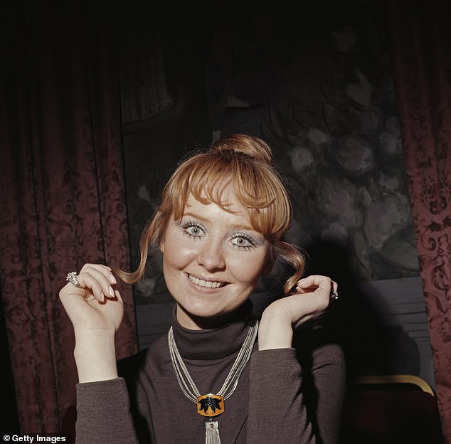Star:The songstress is famous for her incredibly successful singing career (pictured in 1970)
