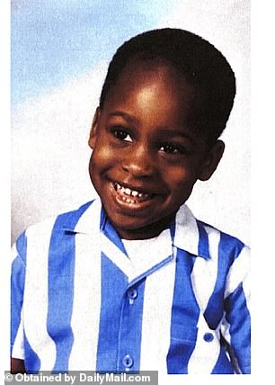 Vernon at age four