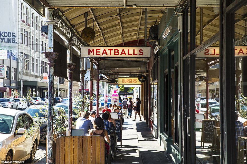 Smith Street in Melbourne, which is No1 in Time Out's 'world's coolest streets' ranking