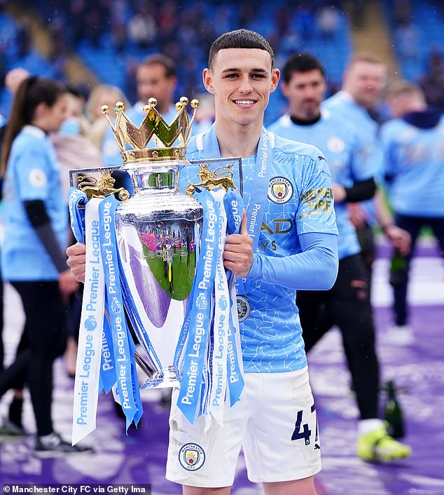 Foden won the Premier League title with Manchester City following an outstanding season