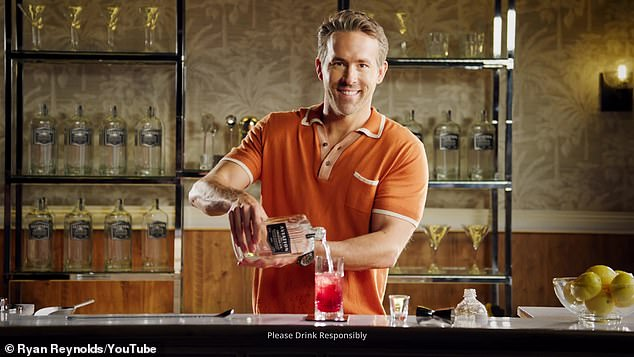 Happy Father's Day! Ryan Reynolds hilariously demonstrated how to make his cocktailthe Vasectomy in an ad for his gin brand, Aviation American Gin