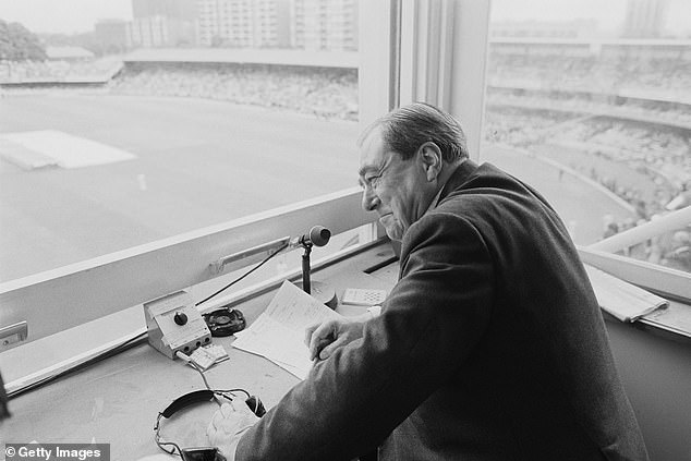 The bowler believes there is a family link with legendary broadcaster and writer John Arlott