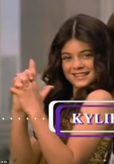 Kylie, 23, began appearing on KUWTK when she was 9.