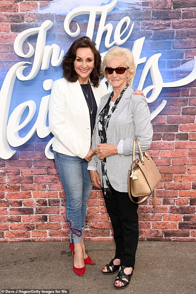 Look who it is:The trio were in good company at the event as Strictly's head judge Shirley Ballas was also in attendance