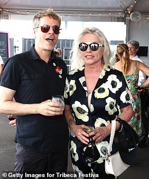 Debbie Harry was on the guest list, too