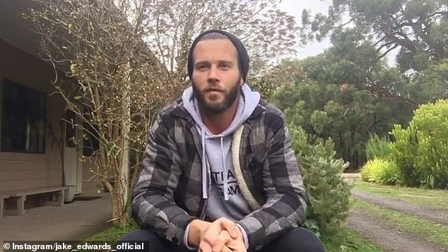 Breaking his silence:'Through no fault but my own, the last two months have been extremely difficult. I've made some choices in my life that has impacted me personally, but also impacted people that I love and care about,' Jake said