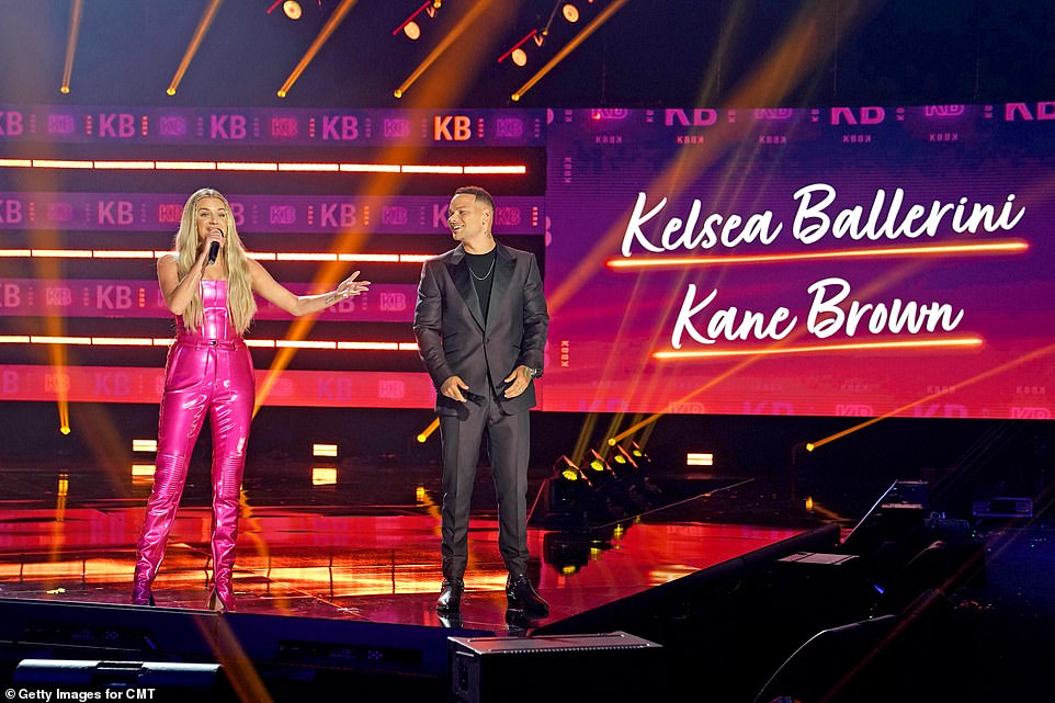 Helping hand:He'll be joined this time around by Ballerini, who's making her debut hosting the country music show