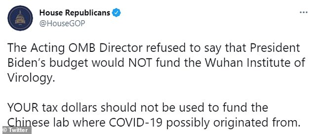 Republicans slammed the lack of commitment not to send future funds to the lab