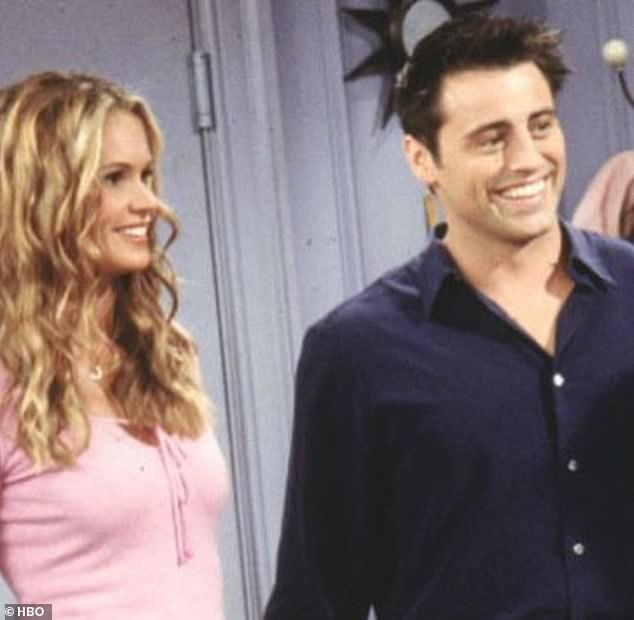 In character: She played Joey Tribbiani's roommate and girlfriend Janine Lecroix on the show for a number of episodes