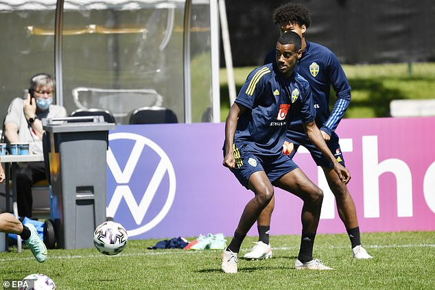 Swedish star Alexander Isak has been compared to Zlatan Ibrahimovic and there is lots of hype