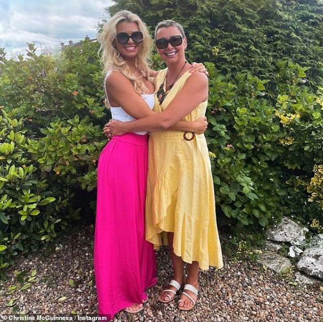 'All done now!'Christine McGuinness has assured fans her mother is 'doing incredibly well' having completed her cancer treatment