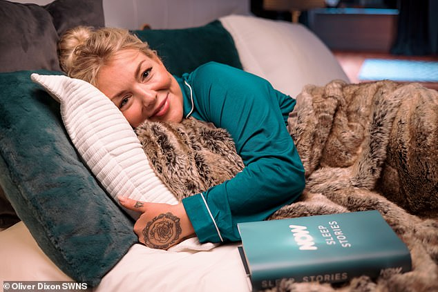 'Tough year': Of her new project, Sheridan said: 'I know it's been a tough year, and the last thing we need is a bad night's sleep'