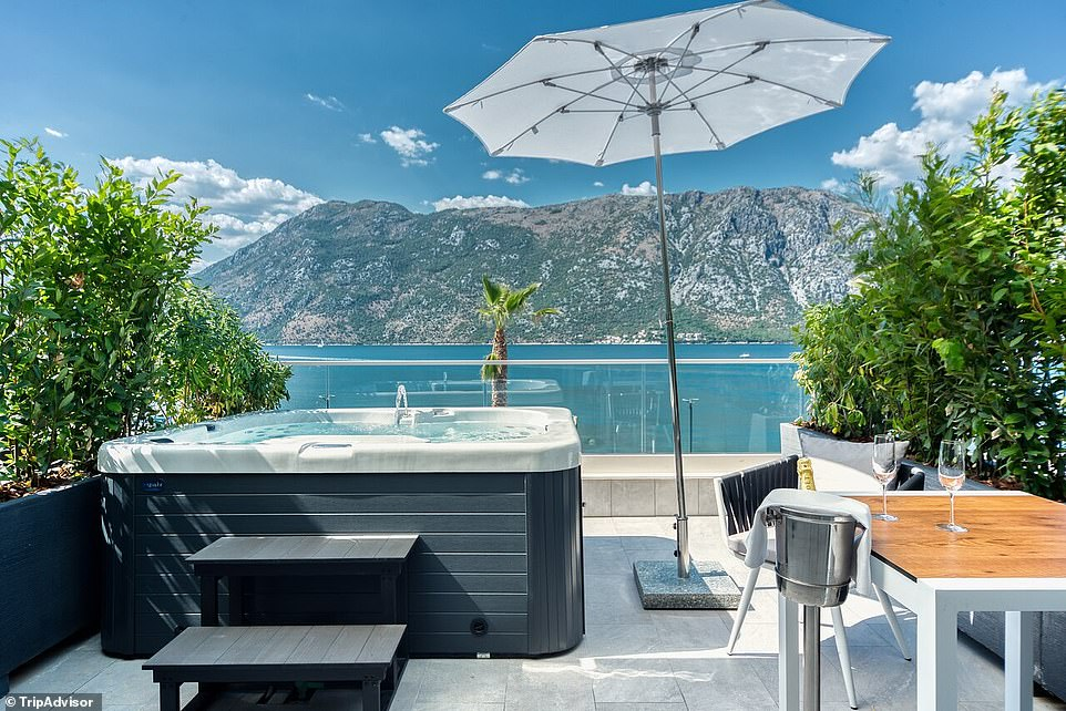 24.BLUE KOTOR BAY PREMIUM SPA RESORT, DONJI STOLIV, MONTENEGRO: 'A haven' with 'a sense of home and harmony' is how Tripadvisor describes this adult-only resort in the Bay of Koto. One reviewer says: 'It's definitely the best hotel on the Montenegrin coast! This was my third time and I would choose it again!'