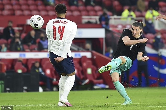 Austria rarely threatened in their friendly against England and then failed to beat Slovakia