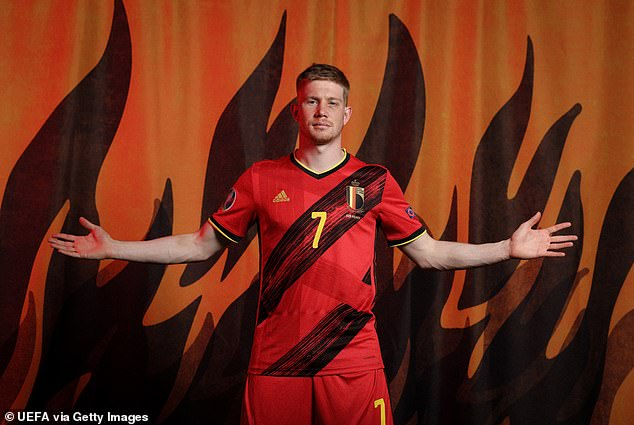 In a team full of stars, Kevin de Bruyne is the standout name for Roberto Martinez's Belgium