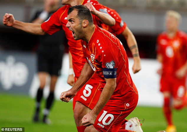 Goran Pandev turns 38 next month but continues to turn in fantastic displays for his country