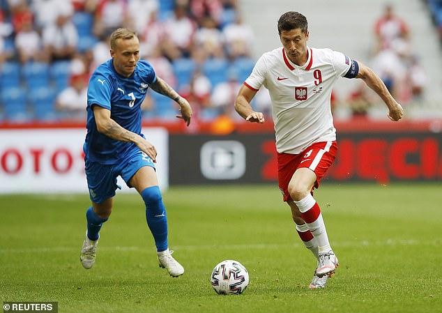 Robert Lewandowski is a goal machine and is the best striker in world football currently