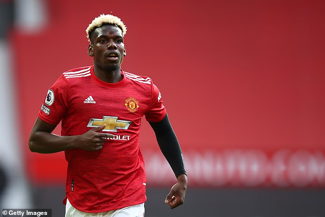 Paul Pogba has denied reports that he is negotiating a new contract with Manchester United