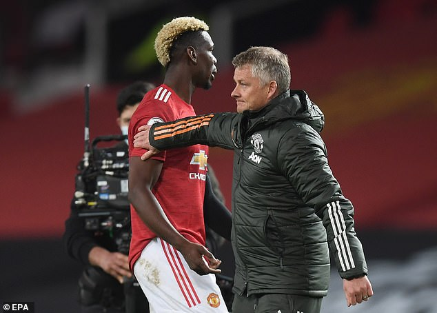 The French midfielder (left) has become a key part of Ole Gunnar Solskjaer's (right) side again