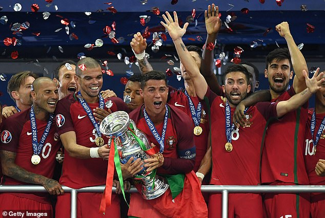 Portugal are the holders after beating France in Paris five years ago thanks to a goal from Eder