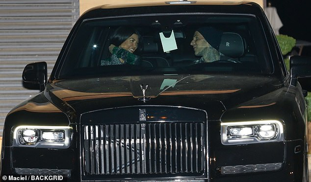 Lovebirds: The pair's relationship has gotten increasingly serious and it has been reported that Kourtney's new Palm Springs house purchase is actually meant to be a shared home for their blending families; pictured at Nobu March 20
