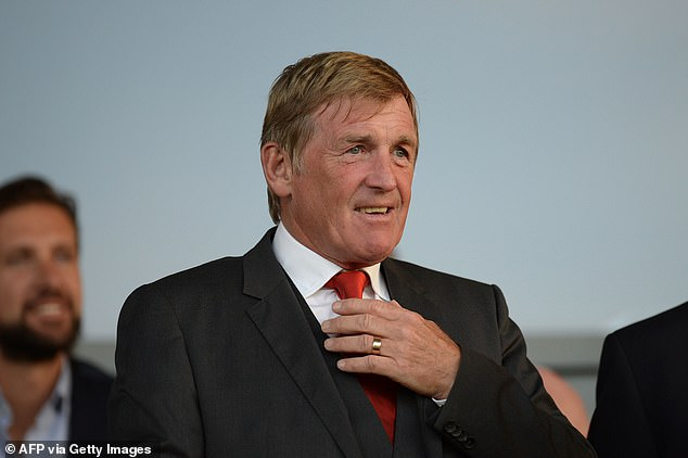 Scotland legend Kenny Dalglish was one of many to celebrate their win against Serbia