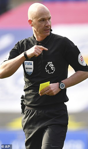 Taylor is one of the English referees at the Euros