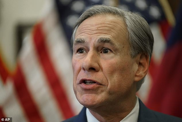 Texas Gov Greg Abbott (Pictured) was criticized for his decision to lift COVID restrictions in March