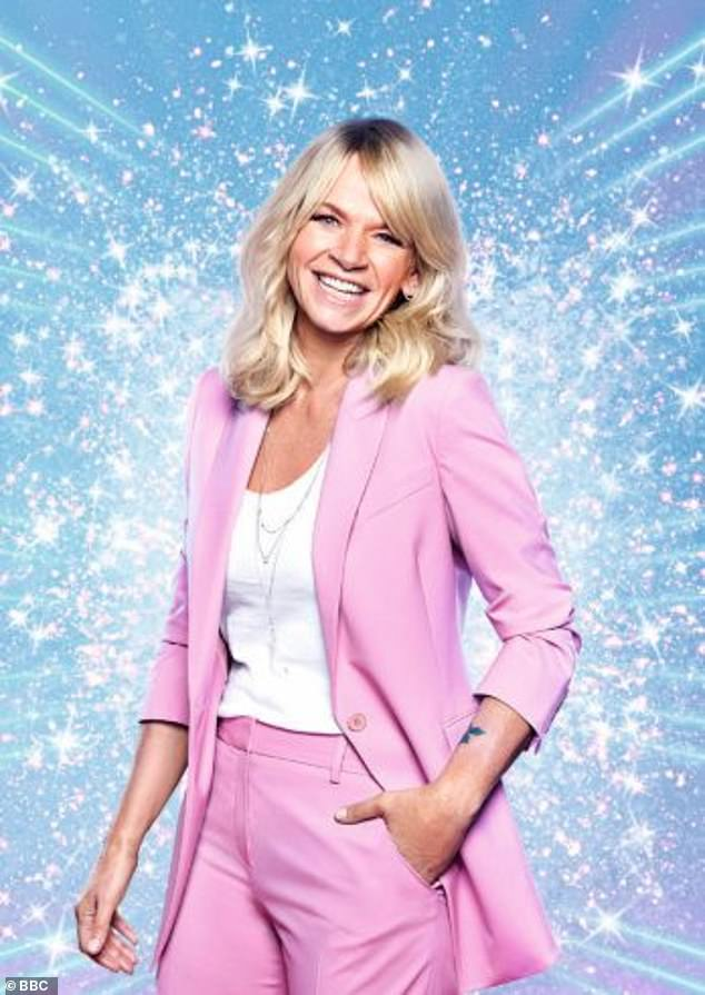 Departure: Zoe, 50, announces she has left the Strictly Come Dancing spin-off show It Takes Two after ten years