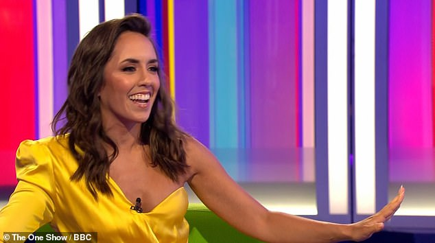 Thrilled: Talking to Alex Jones and Ronan Keating, 37-year-old Cuban-American, Beauty reveals how she's 'excited to be given the chance' and admits leaving Strictly has been the 'hardest part' of her new role Is.