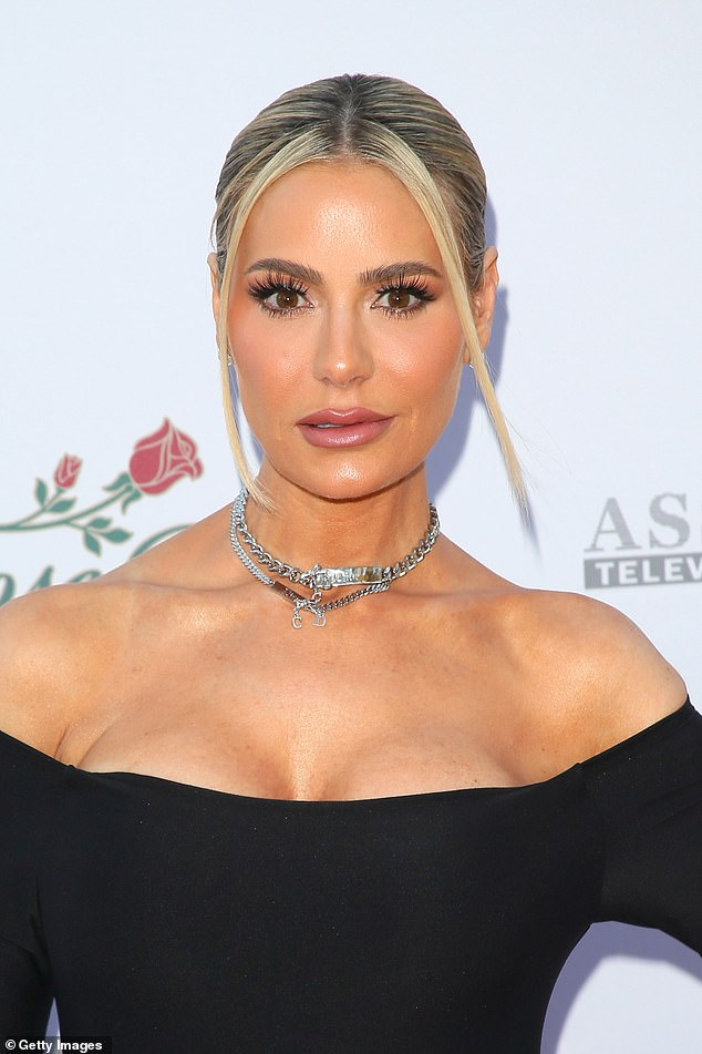 Close up: Dorit pictured June 4, 3032 at the 28th Annual Race To Erase MS: Drive-in Gala at Rose Bowl in Pasadena, California