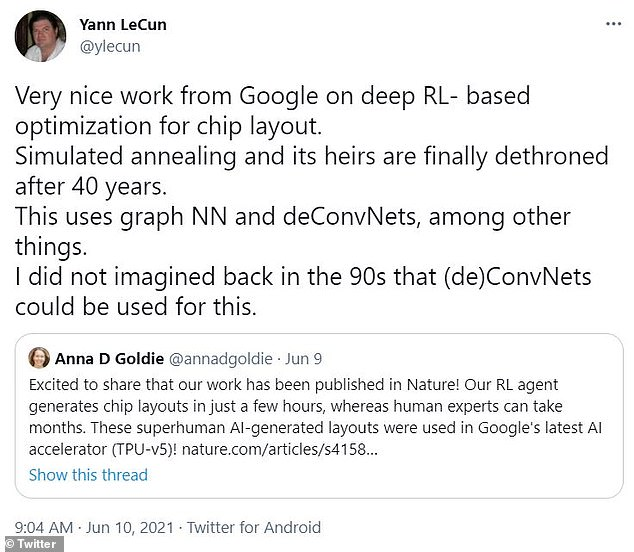 This is considered a remarkable achievement, one that has been hailed by some of the leading AI researchers in the world, including Facebook¿s Yann LeCun