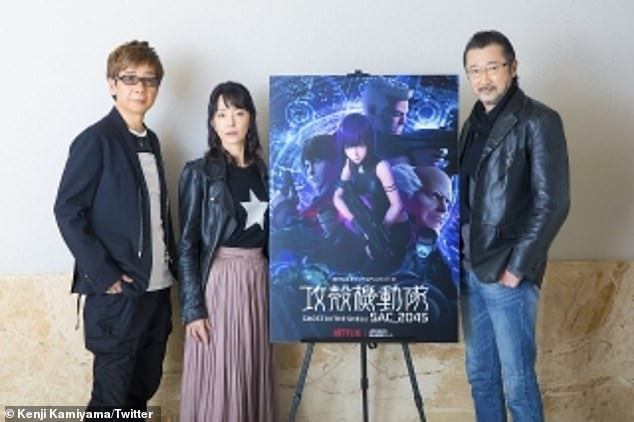 Pictured in 2020: Anime veteran Kenji Kamiyama (L, Ghost in the Shell: Stand Alone Complex) has signed on to direct the fast-tracked film, which plans for a theatrical release