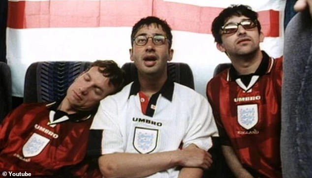 The popular track byBaddiel, Skinner and the Lightning Seeds was released before Euro 96