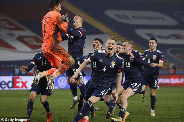 Scotland will be playing popularBaccara song 'Yes Sir, I Can Boogie' to Hampden Park