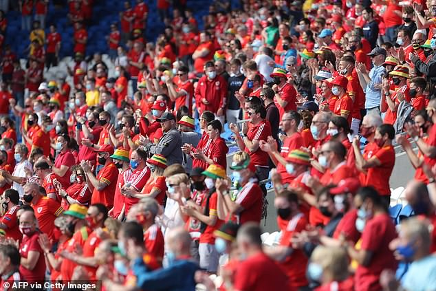 Wales fans will be treated toZombie Nation's 'Kernkraft 400' song - which is popular with fans