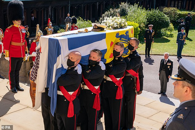 Those tasked with organising the ceremonial military aspects of the duke¿s funeral have also been honoured