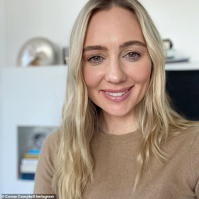 A financial advisor has shared her top 'financial hacks' to help you to achieve your savings goals by the end of 2021, and it all starts with creating a budget (Canna Campbell pictured)
