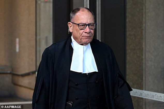 Barrister Bruce McClintock SC, noted it was the 11th anniversary of the action for which Mr Roberts-Smoth won a Victoria Cross